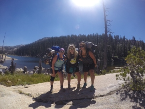 My backpacking sisters.