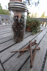 More than just a jar of rusty nails.
