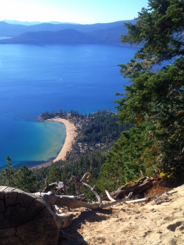 One of the best views of Lake Tahoe I have ever seen from the Flume Trail.