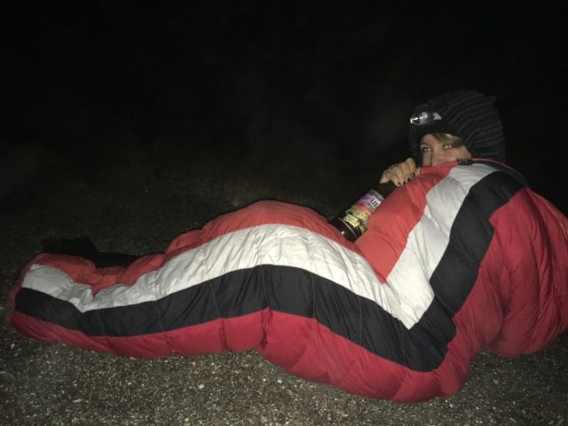 Who doesn't go to the coast and drink beer in their sleeping bag on the beach?