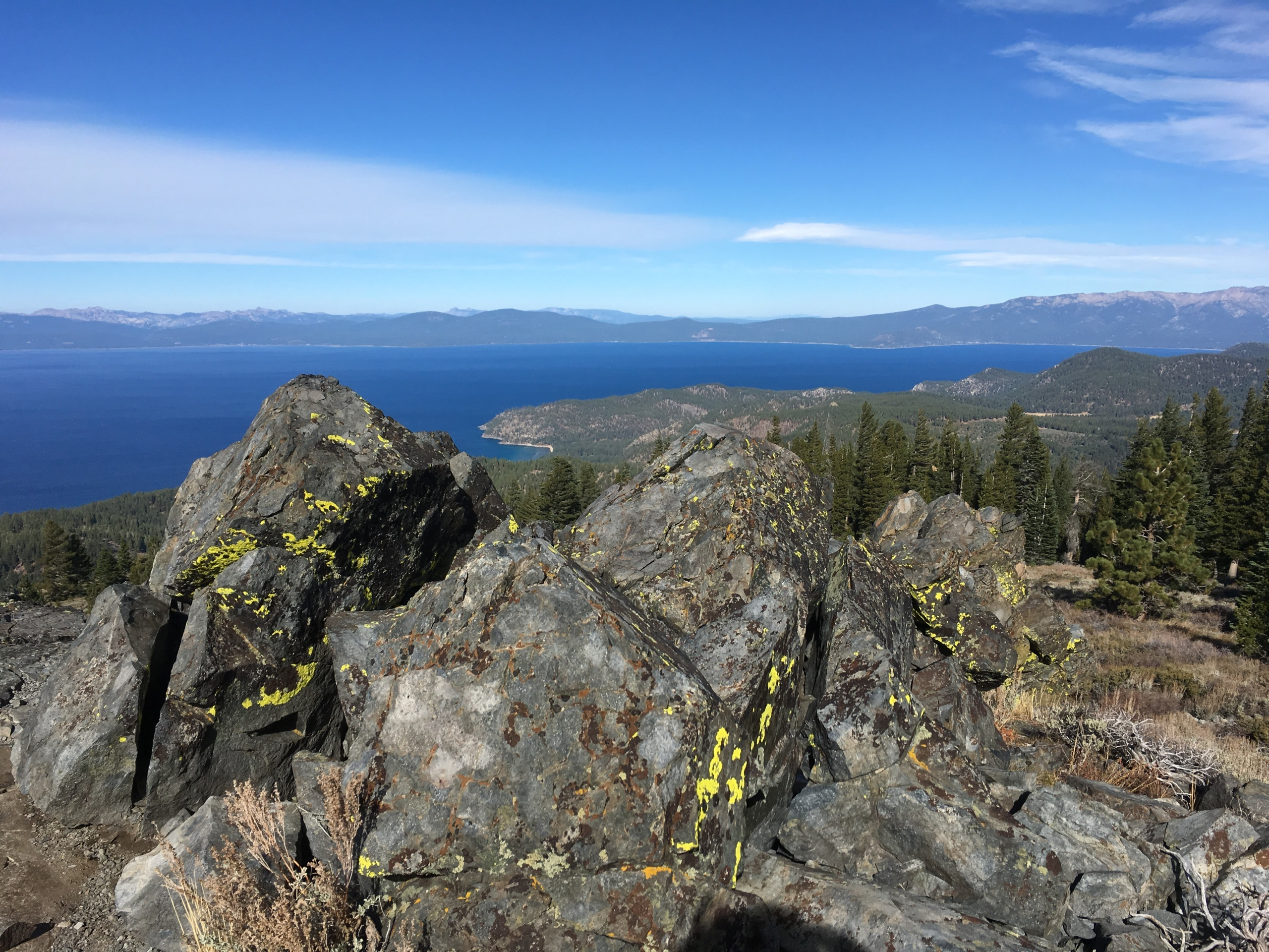 South Camp Peak, Lake Tahoe